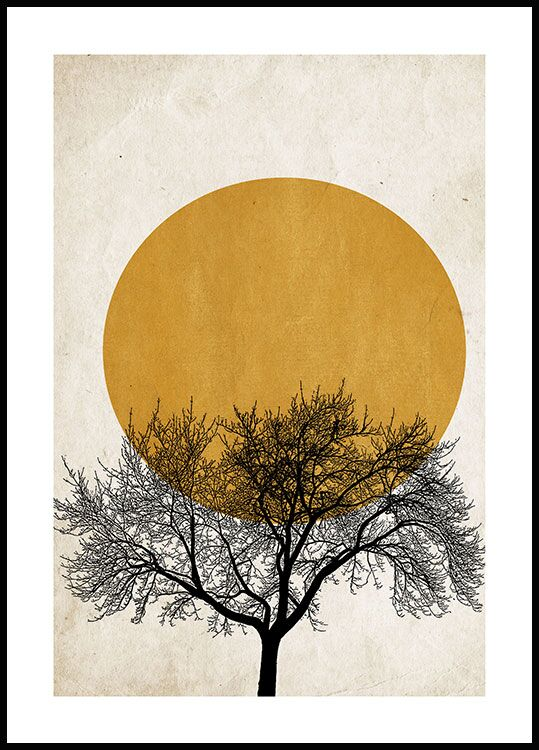 Winter Morning Poster